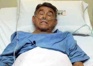 hector suarez hospitalizado