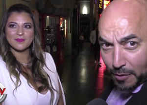 Lupillo Rivera y su amiga Shirley Arroyo