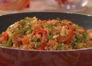 Arroz con pollo sin arroz
