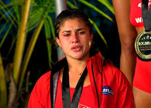 Nona llora por ser campeona del Torneo
