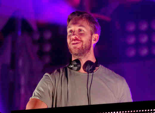 DJ Calvin Harris en el Jingle Ball 2015 en Xcel Energy Center