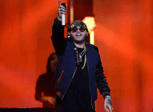 Farruko en el iHeartRadio Fiesta Latina en el American Airlines Arena