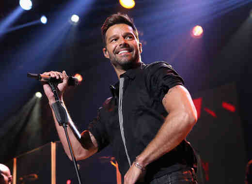 Ricky Martin on the Honda Stage at the iHeartRadio Theater Los Angeles