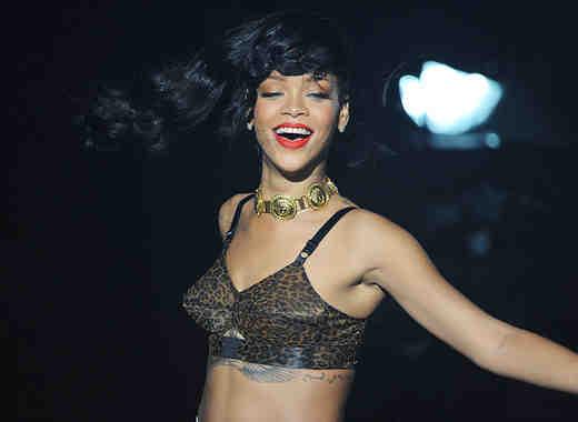 Rihanna concierto 2012
