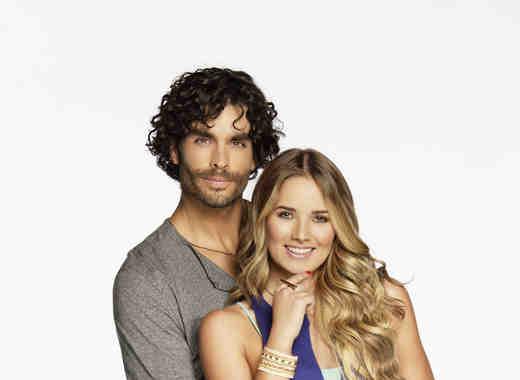 Gonzalo García Vivanco y Kimberly Dos Ramos