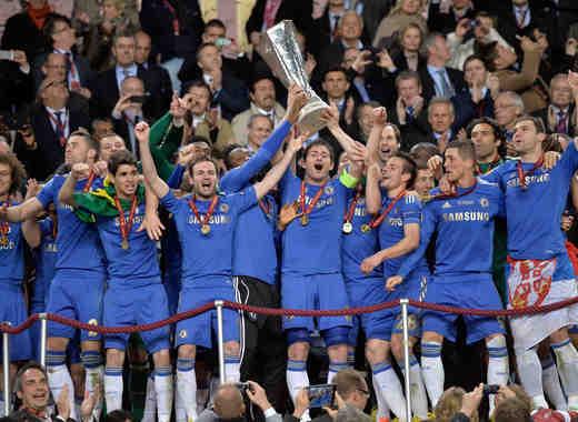 Chelsea se corona campeón del fútbol Inglés