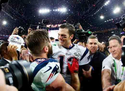 New England Patriots ganan Super Bowl 49