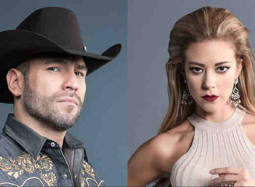 Rafael Amaya y Fernanda Castillo
