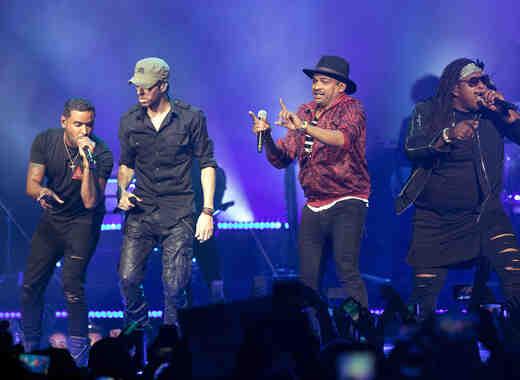 Enrique Iglesias & Pitbull In Concert