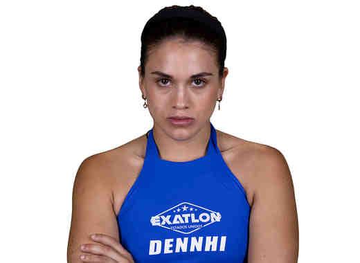 Dennhi Callu en foto de portada Exatlón