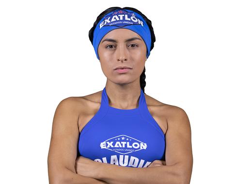 Claudia Martínez en foto de perfil Exatlón