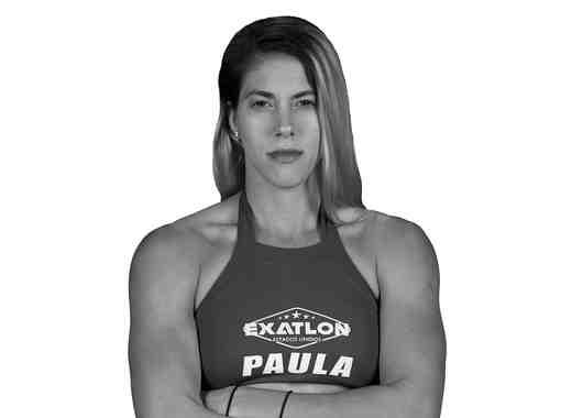 Paula Leyes en foto de perfil Exatlón ByN
